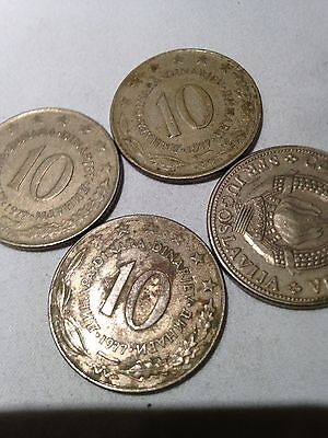 4x Jugoslavian Rare Coins - see all pictures!