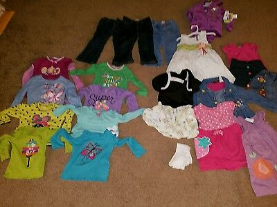 Lot of Girls Clothes Size 3T