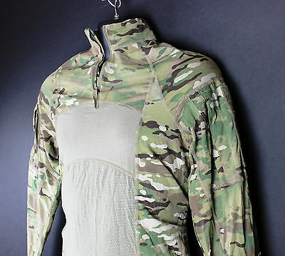 EUC 1/4 Quarter Zip Massif Multicam Army Combat Shirt Paintball Airsoft Top