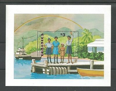 1979 Scouts Dominica Girl Guides 50th anniv SS