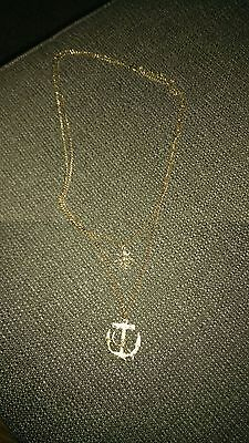 Brand new anchor nautic necklace jewellery cute