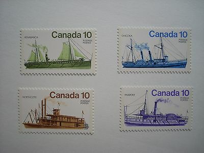 Canada 1976 Inland Vessels  Set 4 Mnh Sg851/4