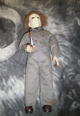 Halloween Michael Myers 18 inch Plush Doll Spencers Gifts