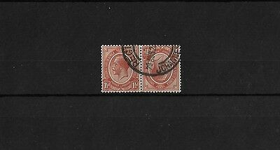 SOUTH AFRICA 1½d TETE-BECHE PAIR, FINE USED, SG5A, CAT £18