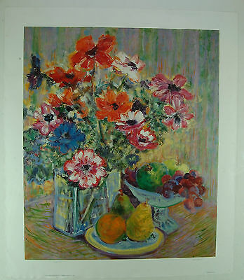 """Anemone Bouquet"" by Clifford - Signed Limited Edition Print"