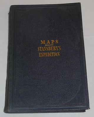 RARE 1849 Stansbury's Expedition Leavenworth to Great Salt Lake Large ... Lot 72