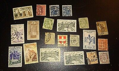 21 x France Stamps