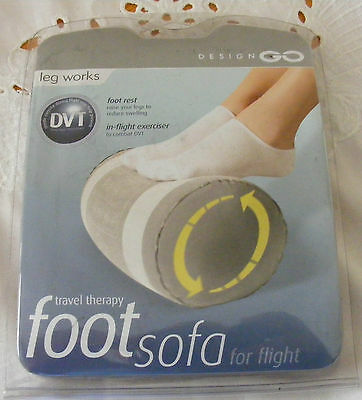 Inflatable Travel Foot Rest Footrest Pillow