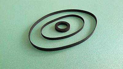 Riemen-Set für Denon DRM-800 DRM-800A Cassette Tape Deck Rubber Idler + Belt-Kit