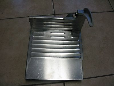 Hobart Stainless Steel Carriage Tray 2612 2712 2812 2912 OEM