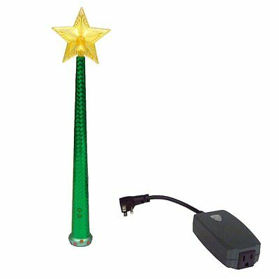 Magic Light Wand Christmas TREE Remote Control Light & Sound GREEN - NEW!