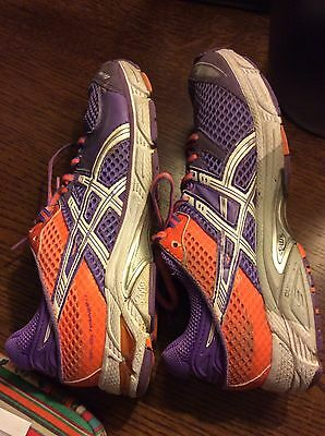 Colourful ASICS trainers Women's Size UK 5 / Eur 38