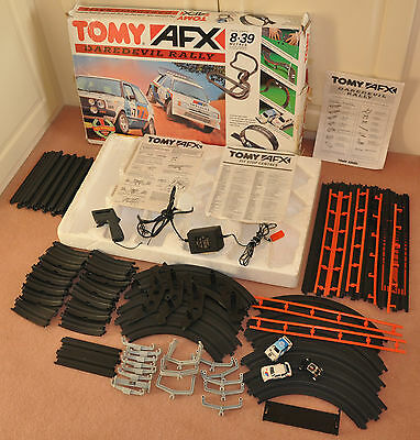 Tomy AFX Daredevil Rally Track Set 4 Spares Parts Only Boxed Vintage Kids Toys