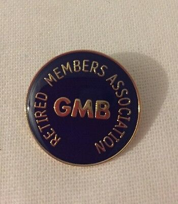 Trade Union GMB Retired Members Badge
