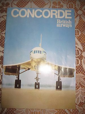Collectable B.a.concorde Information Brochure/magazine Good Cond