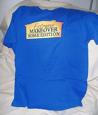 Extreme Makeover Home Edition t-shirt size XL