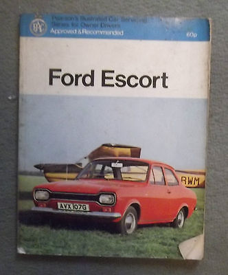 FORD ESCORT MK.I,SERVICE GUIDE by PEARSONS