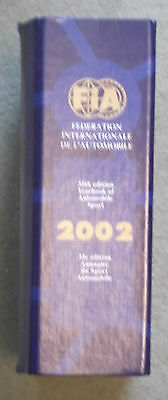 Fia Yearbook Of Automobile Sport 2002