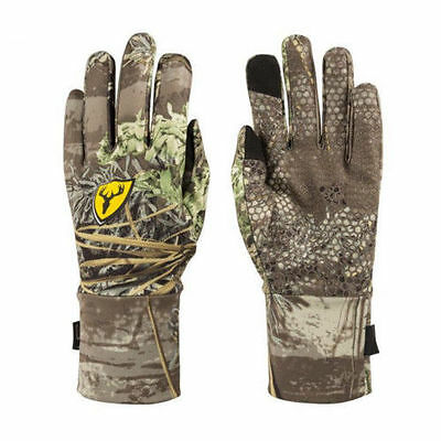 ScentBlocker Men's Trinity Glove with Text Touch Realtree Max-1 Med/Large GWTM1L
