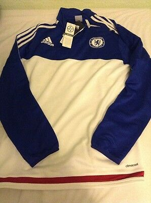 Adidas Chelsea 2015/16 Training Top Football Climacool Size Large AC4963