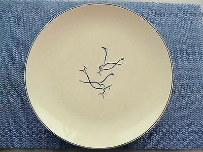 Blue Ridge Pottery Nesting Birds Plate Rare Southern Decorative Collectible