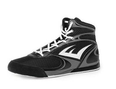 Everlast Contender Mid Top Boxing Shoes - Black