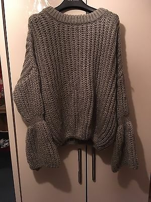Grey Jumper Size Medium New Bought From ZAFUL