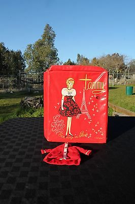 """Vintage Tammy By Ideal With Case Doll Vintage 1960's """"Evening In Paris"""""""