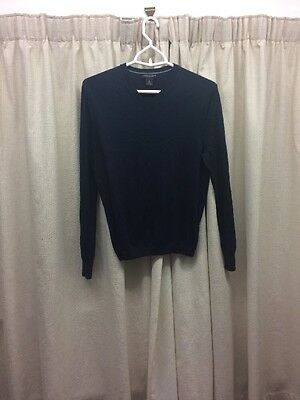 Banana Republic silk and cashmere men's top navy blue size small