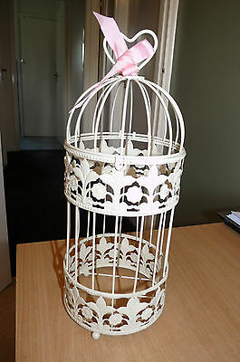 Ornate Birdcage / Flower Basket - Wedding Item With Heart - Please Look.