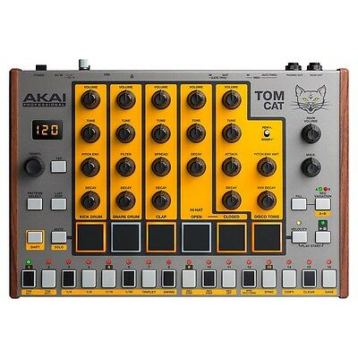 Akai Tom Cat: Analog Drum Machine