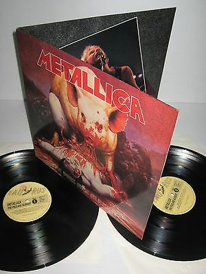 METALLICA – The Pigs Are Alright – vinyl 2 LP Live 1988