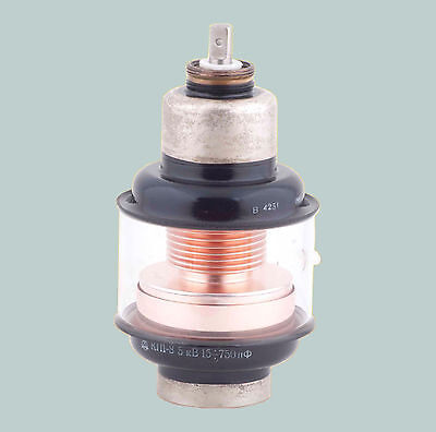 (15-750) pF 5 kV 35 A VACUUM VARIABLE CAPACITOR TRIMMER KP1-8 КП1-8