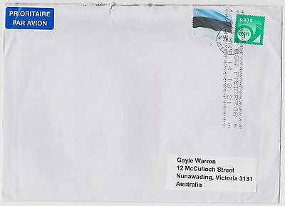 Small group of 5 recent colourful inward covers to Australia ST129