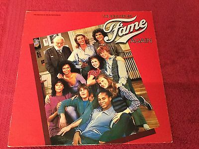 The Kids From Fame Again OST LP Record