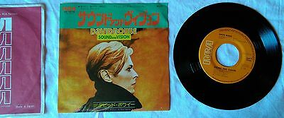 *** DAVID BOWIE -  Sound and vision *** RARE JAPAN 7""