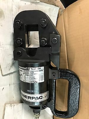 """Used Enerpac WHC-1250 20 Ton Hydraulic Cable Wire Cutterhead Cutter Head 1-1/4"""""""
