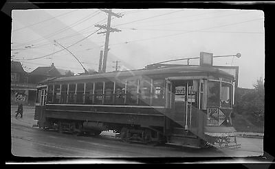 TROLLEY NEGATIVE-[Neg. A493]-1930s BCER British Columbia Electric Railway Photo