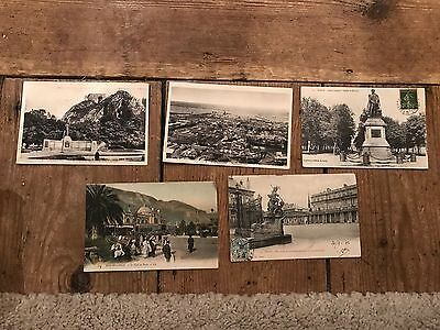 Early 1900s French Postcards - POSTED