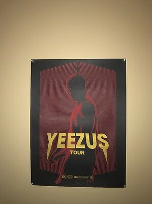 Kanye West Yeezus Tour Limited Edition 58/100 Poster 24'x 18' Yeezy Supreme