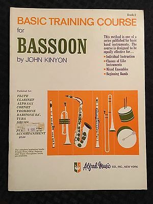 Basic Training Course For Bassoon - Book 2