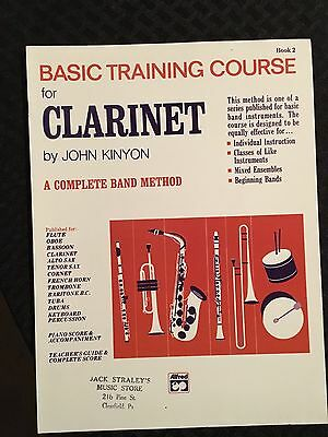 Basic Training Course For Clarinet - Book 2