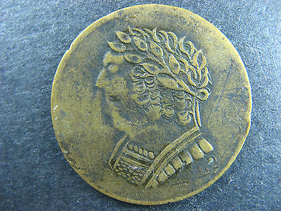 LC-60E1 1820 token Lower Bas Canada Bust and Harp BH-1 Breton 1012