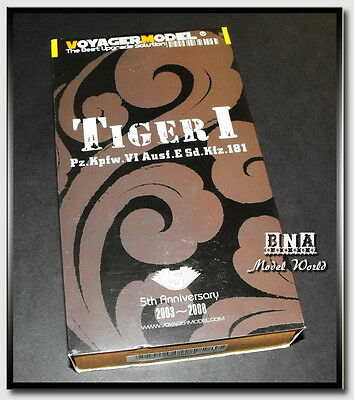 Voyager Models Full 1/35 Tiger I Early/Middle/Late Detail Set for Dragon/Tamiya