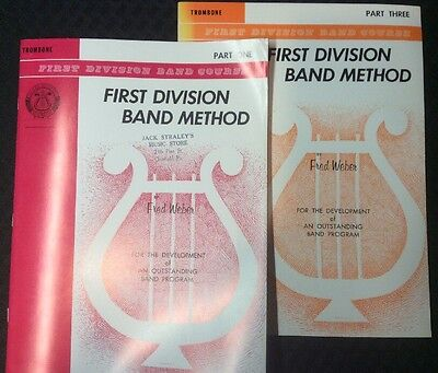 First Division Band Course - Trombone - Part One & Part Three