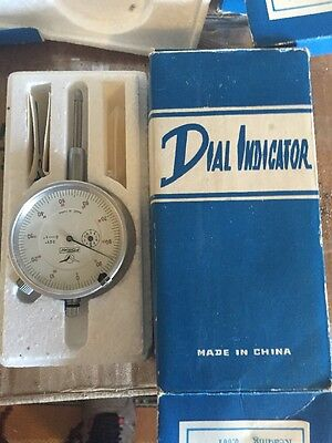 """Fowler Dial Indicator 0-1"""" .001"""" Graduation New Fast Shipping"""