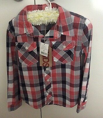 COUNTRY ROAD Boys SHORTS & COTTON ON Boys Shirt Size 6 NEW!!!