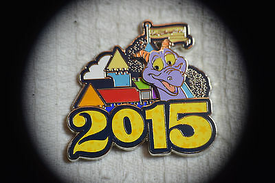 Disney Pin 106964 WDW - 2015 Dated Logo Pin - Figment