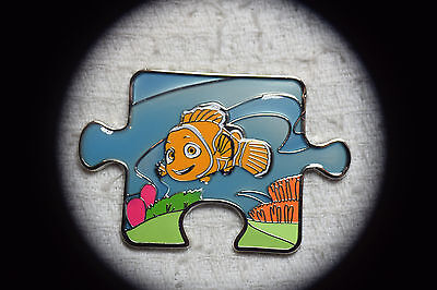 Disney Pin 114518 Finding Nemo Character Connection Mystery Puzzle - Nemo
