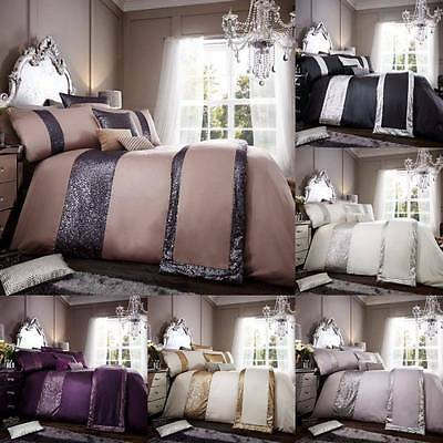 Luxury Glamorous Duvet Cover Set With Pillow Cases Bedding Set in All Sizes